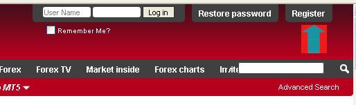 Register Instaforex